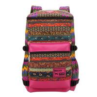 High quality Fashion Women Vintage Travel Backpacks Satchel Cute Floral Print Daypack Rucksack