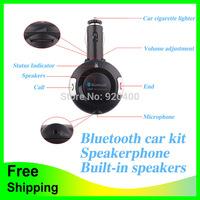 Free Shipping New Wireless Bluetooth FM Transmitter Car Kit Car MP3 Player Audio Modulator Color BT06