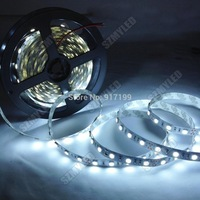 Led Strip 5050 5m 300Led Flexible Light Led Tape 12V Ribbon Lamp 60 Leds/m RGB,Warm White,White,Red,Blue,Yellow,Free Shipping