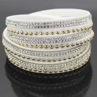 2015 Latest Wholesale Jewelry Fashion Bracelets Multilayer Fashion Female Charm Bracelet Free Shipping