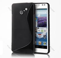 S Line TPU GEL Case Cover  for Huawei ASCEND D2