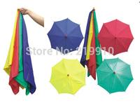 Free Shipping Silk to four umbrellas --Magic Trick, Fun Magic, Party Magic.
