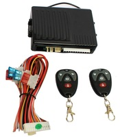 send from russia New1-Way Car Vehicle Burglar Alarm Security Protection System + 2 Remote Control without speaker