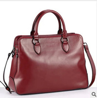 2014 hot sale genuine leather handbag top cowhide bag women messenger bag cross body bag wholesale free shipping