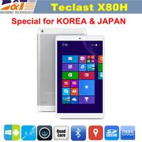 Teclast X80H Tablet Windows 8.1 Tablet PC Intel Z3735F Quad Core 1280X800 IPS Screen 2GB/32GB HDMI 3G External