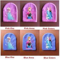 kid 's cap Wholesale Frozen Hat Child Girls Beanie Knited Beanies for Children Autumn Winter Hat  Baby Girls Knitting Hat Caps