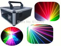 5W 5000mw RGB seven colors 128 beam big stage laser lighting