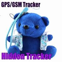 Hidden Plush Cartoon Toy Bear GPS/GSM/GPRS Personal Tracker - IDL100 Tracking Device for kids Plush Toy Key chain GPS Tracker