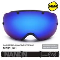 NANDN Unisex Ski Goggles Double lens Anti-fog Breathable Frame Skiing Glasses Multicolor Men Women Ski Goggles Snow Goggles NG1