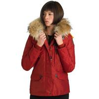 On Sale Denali Women Masterpiece Red Down Parkas Jacket Short Female Winter Fur Hooded Arctic Gobi Kodiak Coat Outerwear 803