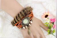 Lady Winter Mink Retro Twining Bracelet Watches Good Sale XWT090