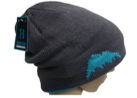Winter Knitted Ski Hat For Men Bicycle Riding Cycling Hat Cap Warm Two-sided Sport Cap