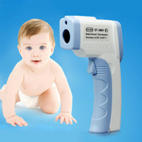 Free shipping Non-Contact-IR-Laser-Gun-Thermometer-LCD-Digital-Baby-Body-Monitoring-Infrared