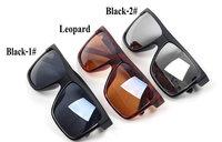 The lowest price!Super Cool Big Square frame Flat top 2014 new fashion sunglasses women men sun glasses gafas Oculos de sol 017