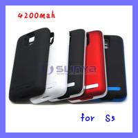 4200mAh External Battery Case for Samsung Galaxy S5 i9600