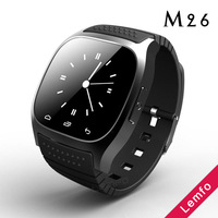 Smart M26 Wireless Watch Wrist watch Phone Waterproof for Apple iPhone Samsung Smartphones Anti-lost Sync function Portable Hot