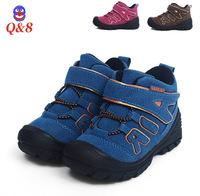 Q8 leather shoes winter cotton shoes children Boys cotton shoes girl short boots leather warm cotton shoes baby winter boots