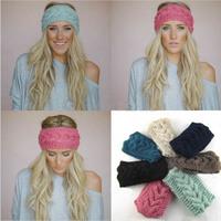Wide Knitted Headband, Women's, Fashion Accessory, Winter, Cozy, Stocking Stuffer, Cable Knit Ear Warmer   HL095