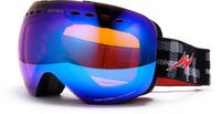 Freeshipping Double Layer Large lens Snow Goggle Optical 100% UV400 Protection Anti Fog Ski Goggles Snowboard Goggles