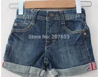 free shipping 5PCS /lot clothing clothing baby girls jeans shorts boy denim shorts