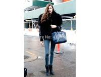 New Women Bag Large Handbag Vintage Leather Smiley Face Bag Large Designer  Shoulder Messenger PU Bag Bolsa