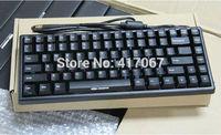 Noppoo Choc Mini 84 USB NKRO Mechanical Keyboard Cherry MX Black/Red Switch POM Caps
