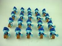 100pcs/lot  Mini Figures  Capsule Toys For Kids(key pendant)