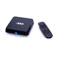 New M8 Amlogic S802 Android TV Box Quad 2G/8G Mali450 XBMC GPU 4K HDMI 2.4G/5G Dual WiFi Mini PC Smart TV With Remote Controller