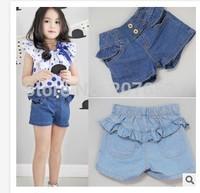 free shipping 5PCS /lot clothing clothing baby girls jeans shorts girls denim shorts