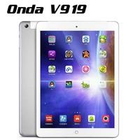 Original 9.7 inch Onda V919 3G Tablet PC MID MTK8382 Quad Core 16GB Rom 1024x768 GPS GSM FM WCDMA 3G Phone Call Y50*PB0154A1#M5