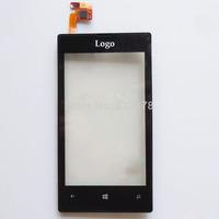100% Guarantee Original Black For Nokia Lumia 520 Touch Screen Digitzer Free shipping Free Shipping