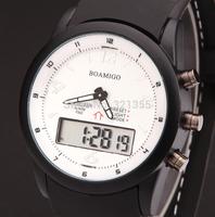 Watches men women luxury brand BOAMIGO Sports Military Watch Dual time Digital Analog Quartz Watches Wristwatches Relogio 502