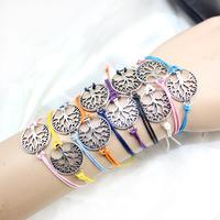 Aliexpress wholesale 2014 tree of life bracelet women and men lot 30pcs free shipping cheap promotion!!!
