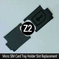 100% New Original Housing For Sony Xperia Z2 L50W D6503 SIM Card Slot Cover Case, Free Shipping