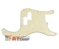 3Ply P Bass Pickguard Aged Cream Pearl 11 Hole for PB Style Bass Guitar M722