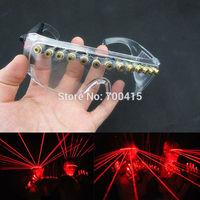 OEM stage glasses Laser glasses/LED glasses/wolverine laser/laser glasses for DJ club dance wear