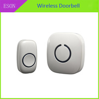 Portable Nice 52 Melody LED 25-110db Wireless Doorbell With  One Transmitter and  Receivers CA000346