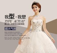 Professional custom winter Korean fashion Halter Bra waist was thin lace bridal Diamond