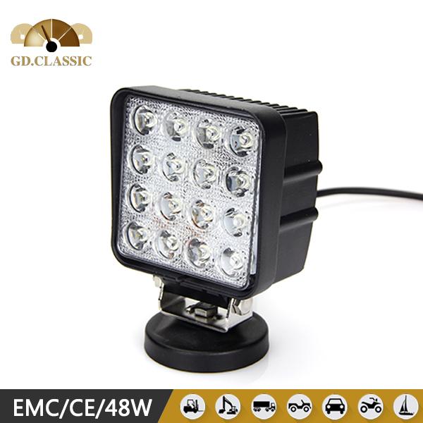 Best price auto heavy duty 48w led work light(China (Mainland))