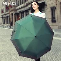 Fino elegant butterfly folding umbrella parasol umbrellas UV sun umbrella rain or shine dual super
