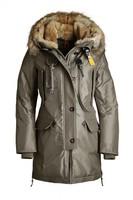 Hot Brand Woman Long Article Kodiak Masterpiece Olive Green Down Parka Winter Women Coat Fur Hooded Jacket GOBI Denali Bear 921