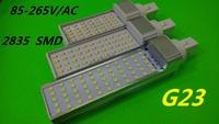 G23 LED Bulbs 7W 9W 12W Super bright 2835 SMD LED PL Corn Light Lamp White/Warm White AC/85-265V for home Side lighting 2pcs