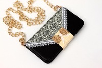 "100pcs/lot Free shipping 8colours Ladies lace pattern Zipper fashion leather case cover for iphone 6 plus 5.5"" housing"