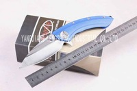 2014 new MICROTECH FOLDING KNIFE CAMPING/HUNTING SUVIVAL/RESCUE KNIFE FREE SHIPPING