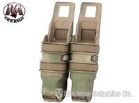 EMERSON Fastmag Pistol Magazine pouch Double mag pouches nylon EM6351A A-TACS/FG