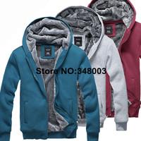 Новое прибытие сгустить Мужское пальто подкладка Толстовки из искусственного меха, шерпа подкладки верхней одежды на осень зима m-xxxl