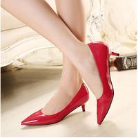 Free Shipping high heel brand high heels women sexy dress footwear fashion lady spring sapatos pumps EU size 35-41