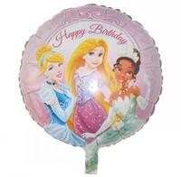 free shipping 20pcs/lot  foil balloon princess balloon Chirdren's birthday decoration balloon