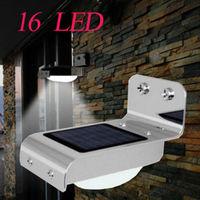 Waterproof 16 LED Solar Power Motion Sensor Garden Security Lamp Outdoor Lights