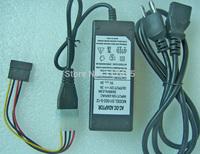 Hard Disk External Power Supply 5V 12V Dual DC 4-Pin Molex Adapter Cable + SATA plus